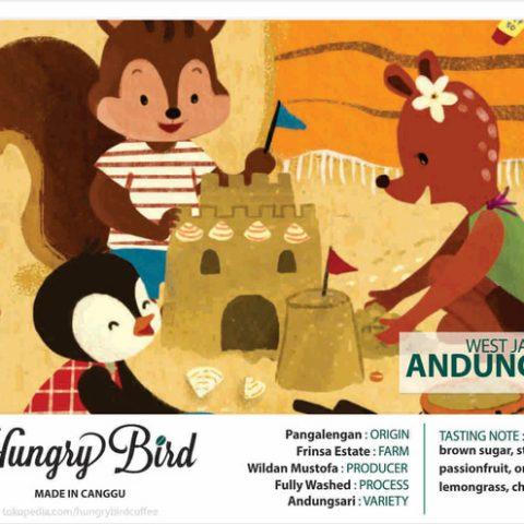 Hungry Bird Coffee Made in Canggu Andungsari