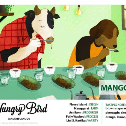 Hungry Bird Coffee Made in Canggu Flores Manggarai