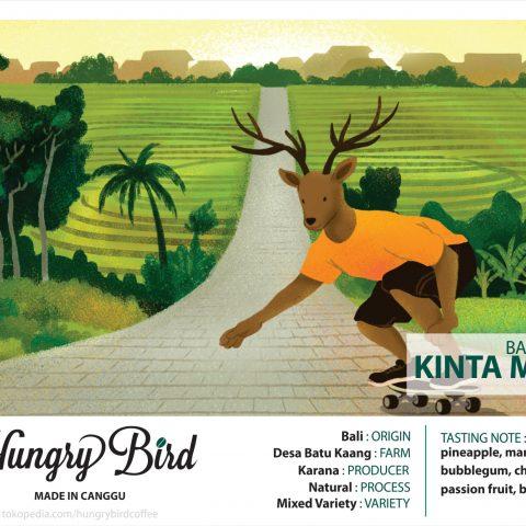 Hungry Bird Coffee Made in Canggu Kintamanis