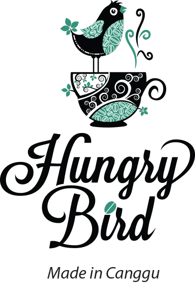 Hungry Bird Coffee logo footer