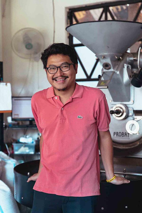 Hungry Bird Coffee Team Prawira Adhiguna (but please call him Edo)