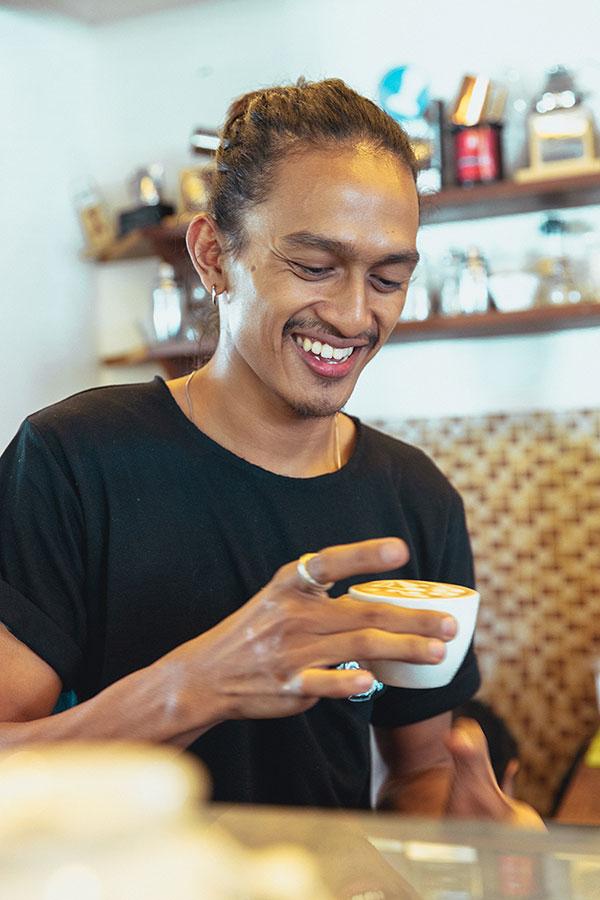 Hungry Bird Coffee Team Restu Sadam Hasan